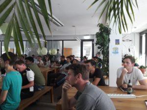Blockchain Meetup Mainz - #5 - gespannte Teilnehmer