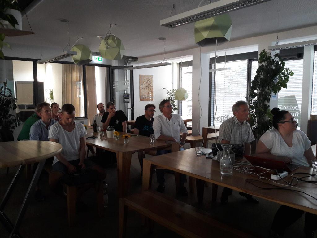 Teilnehmer Blockchain Meetup Mainz mit ETHLend