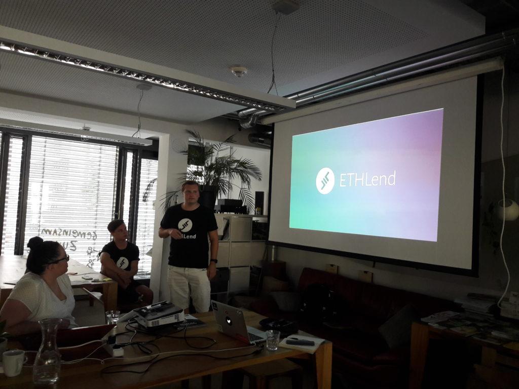 Blockchain Meetup Mainz mit ETHLend - Stani Kuchelov
