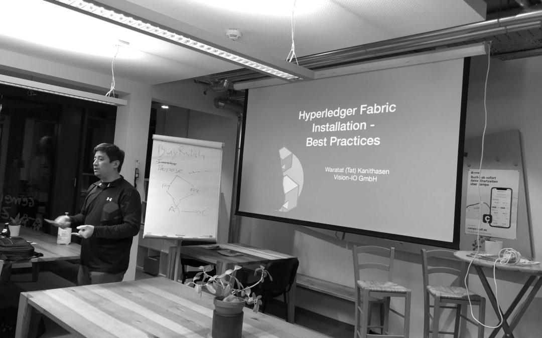 Rückblick Crypto #9 Meetup – Hyperledger Fabric Workshop