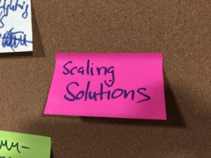 Post-It Scaling Solutions