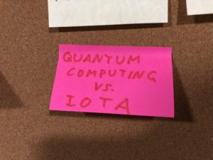 Post-It Quanten Computing