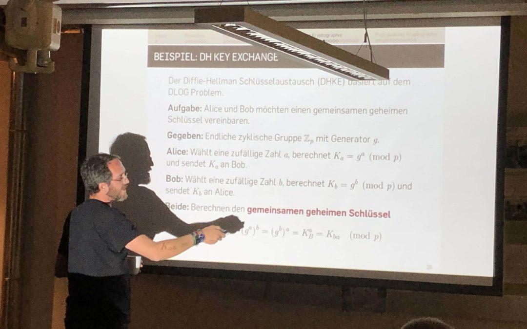Quantum Computing & Kryptografie Meetup – Rückblick #14