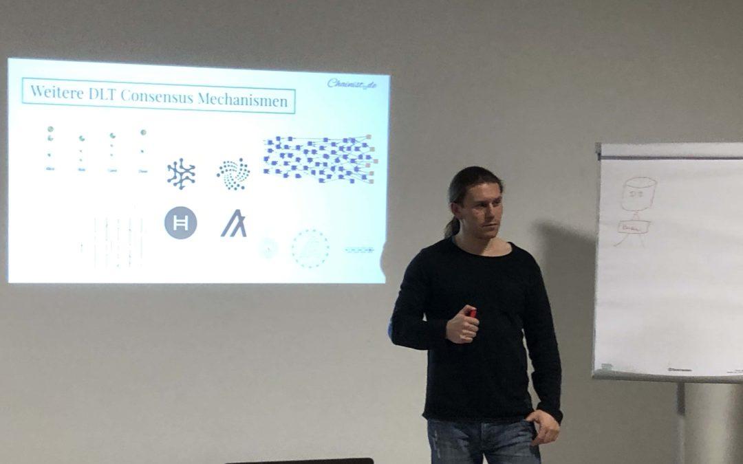 Blockchains sind auch nur verteilte Systeme? Meetup #18