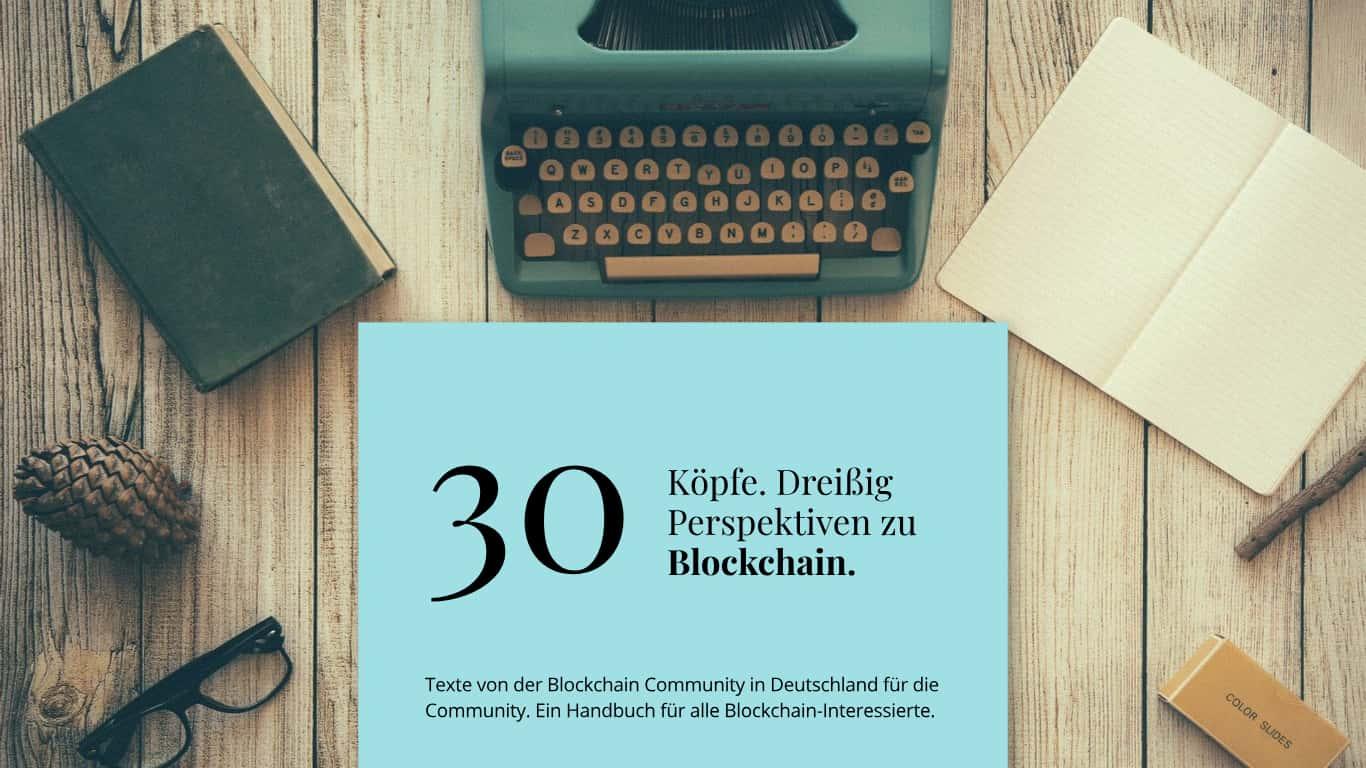 Cover Beitrag Blockchain Community e-Book