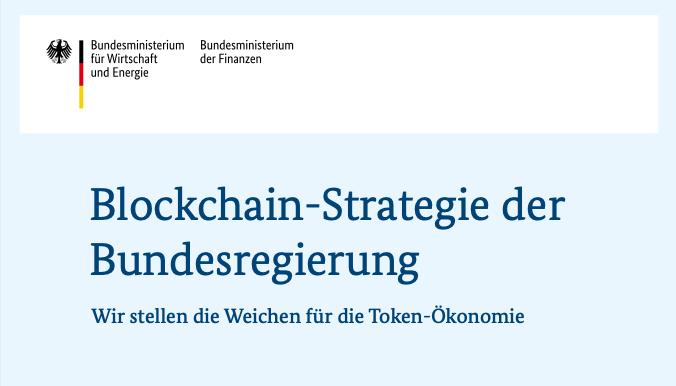 Titel Blockchain-Strategie der Bundesregierung